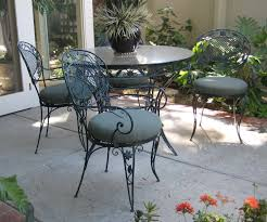 top vintage patio chair and vintage wrought iron piece patio table chairs end tables antique rod iron patio