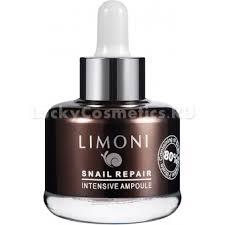 <b>Limoni Snail Repair</b> Intensive Ampoule: отзывы, инструкция, состав