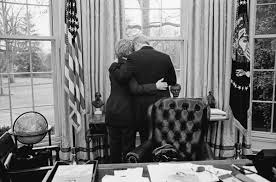 bill clinton and hillary clinton share a private moment one of their last in the bill clinton oval office