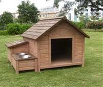 images about Dog house plains on Pinterest   Dog House Plans    Dog House Plans DIY   water bowls for summer  Just a lot bigger   more