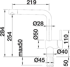 <b>Смеситель Blanco Linus</b>-S 516708 для <b>кухонной</b> мойки купить в ...