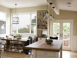 open kitchen design farmhouse: modern farmhouse style open dining room and kitchen design