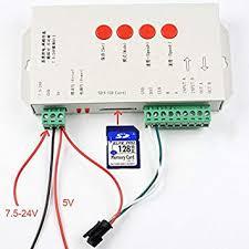 TEZTECH <b>T1000S</b> SD Card <b>LED Controller</b> Pixel <b>Led Control</b> ...
