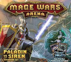 Mage Wars Arena: Paladin vs Siren Expansion Board ... - Amazon.com