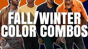 WINNING <b>Men's</b> Color Combinations For <b>Fall and</b> Winter 2020 ...