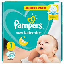 Стоит ли покупать <b>Pampers подгузники New</b> Baby Dry 1 (2-5 кг) 94 ...