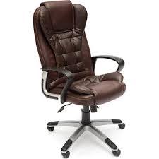 <b>Кресло</b> офисное <b>TetChair BARON кож</b>/<b>зам</b> коричневый ...