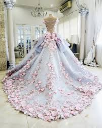 color wedding gowns | Tumblr