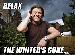 Winter is coming - Eddard Stark, Lord of Winterfell - YouTube via Relatably.com