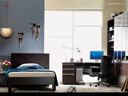 colored bedroom interior ideas for men with marvelous decor and furniture white fur rug brown wooden laminate study desk and black leather office chair bedroommarvellous leather office chair decorative stylish chairs