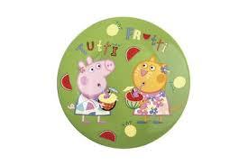 Тарелка 19см Korall <b>Свинка Пеппа фрукты</b> KL56590 - купить в ...