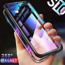 <b>Samsung</b> S8 S9 S10 PLUS Note 8 9 <b>Magnetic</b> Phone <b>case</b> Metal ...
