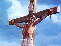Resultado de imagen para Jesús en la cruz es humillado