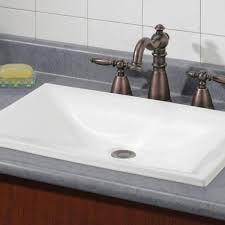 bathroom sink drop