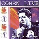 Cohen Live album by Leonard Cohen
