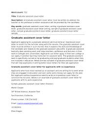 examples of teaching cover letters examples of teaching cover  assistantship
