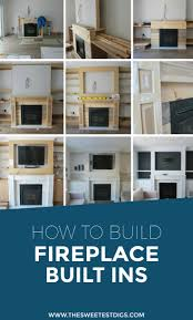 want to build some diy fireplace built ins in your living room building these cabinets build living room built ins