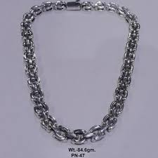 Silver Mountain <b>Solid 925 Sterling Silver</b> Chains, Rs 8700 /piece | ID ...