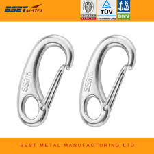 2t egg style 304 stainless steel snap hooks hardware all sizes in stock