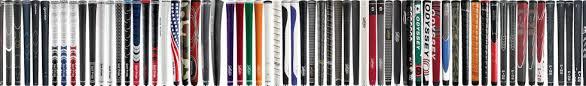 Resultado de imagen de distintos materiales grip de golf