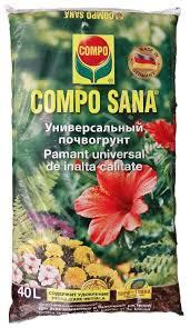 <b>Почвогрунт COMPO SANA универсальный</b> 40 л. — купить по ...