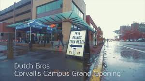 dutch bros corvallis campus grand opening on vimeo