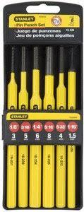 <b>Набор выколоток</b> 1.5-8 мм (6 шт) <b>Stanley</b> 4-18-226 : Купить в ...