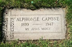 adventures in cemetery hopping al capone didn t die in a hail of gunfire but of late stage