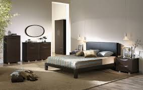 the cool metallic palette with bedroom furniture colors