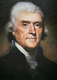Trinity Tuesday: Thomas Jefferson Meets John Polkinghorne - thomas-jefferson-rembrandt-peale