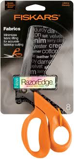 sewing scissors shop for fabric scissors shears jo ann fiskars razoredge 8in fabric shears for tabletop