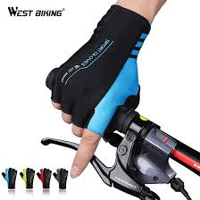 WEST BIKING Summer <b>Cycling Gloves Outdoor Protect</b> MTB Bike ...