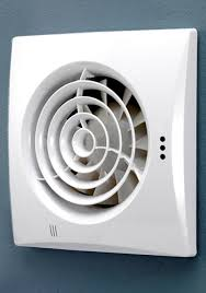 sensing bathroom fan quiet: hib hush wall mounted white extractor fan with timer and humidity
