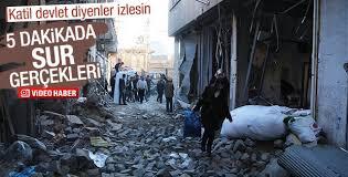 Sur'da vatandaşların teröre isyanı