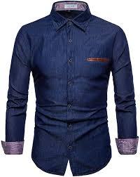 LOCALMODE <b>Men's</b> Casual Dress Shirt Button Down Shirts <b>Fashion</b> ...