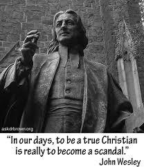 John Wesley / Christian quote. Sad but true. | John Wesley ... via Relatably.com