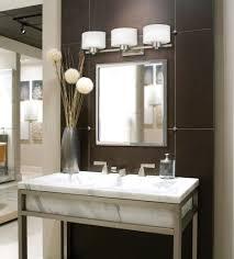 design ideas silver framed bathroom mirror vanity