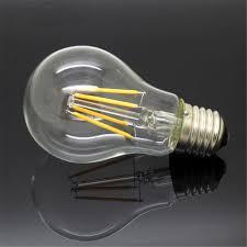 <b>E27 220V</b> - 240V Edison Glass Filament <b>Bulb</b> 4W 8W 12W 16W <b>LED</b> ...