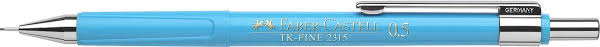 faber castell карандаш механический grip 1345 0 5 мм цвет корпуса синий