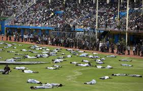 towards a new african fascism kagame s rwanda in the st fig 3 choreographed massacres at the 20th anniversary of the genocide