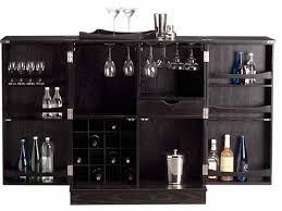 furniture black mini bar