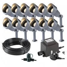 Techmar <b>Apollo</b> Garden Lights Bundle - <b>12</b> Light Kit