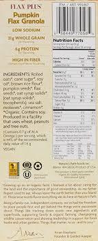 amazon com nature s path organic pumpkin flax plus granola 35 3 amazon com nature s path organic pumpkin flax plus granola 35 3 ounce granola breakfast cereals
