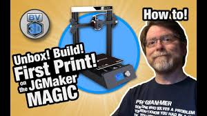 Unbox, Build, and First Print on the <b>JGMaker Magic 3D Printer</b>!