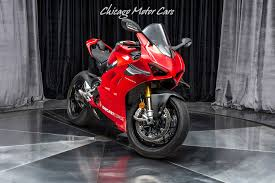 Used 2019 <b>Ducati Panigale</b> V4 R <b>Motorcycle</b> WITH RACING KIT ...