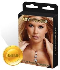 Купить <b>Ann</b> Devine <b>Цепочка с подвеской</b> Rockstar Gold по низкой ...