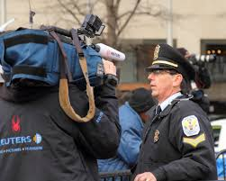 occupyweb org photos for  tags people broadcast hat television washingtondc dc media police dcist interview lawenforcement reuters policeofficers sergeant coolhat domplaza