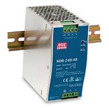 RP-IDR240-48 <b>48V</b> / <b>240W</b> Single Output Industrial <b>DIN Rail Power</b> ...