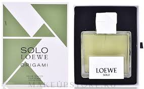 Loewe Solo Loewe Origami - Туалетная вода – купить с ... - MAKEUP