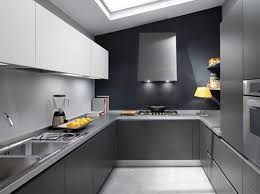 modular kitchen colors: gray color modular kitchen  gray color modular kitchen